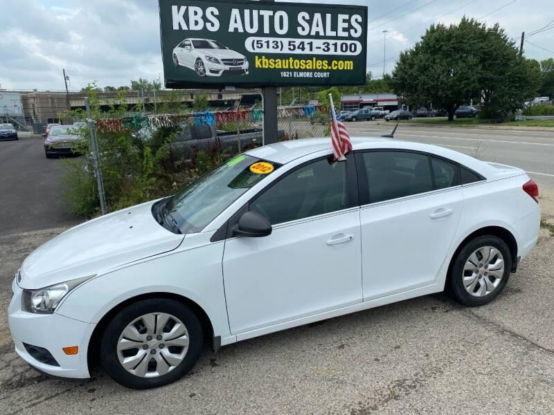 2012 Chevrolet Cruze for sale at KBS Auto Sales in Cincinnati OH
