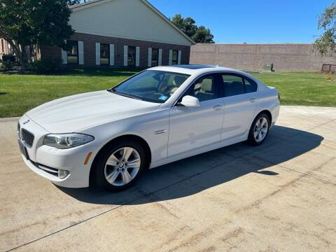 2013 BMW 5 Series for sale at Renaissance Auto Network in Warrensville Heights OH