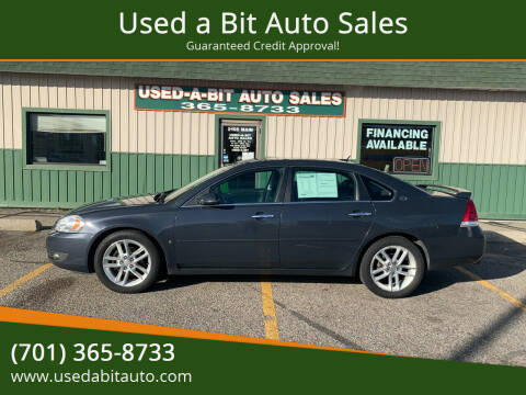 2008 Chevrolet Impala for sale at Used a Bit Auto Sales in Fargo ND