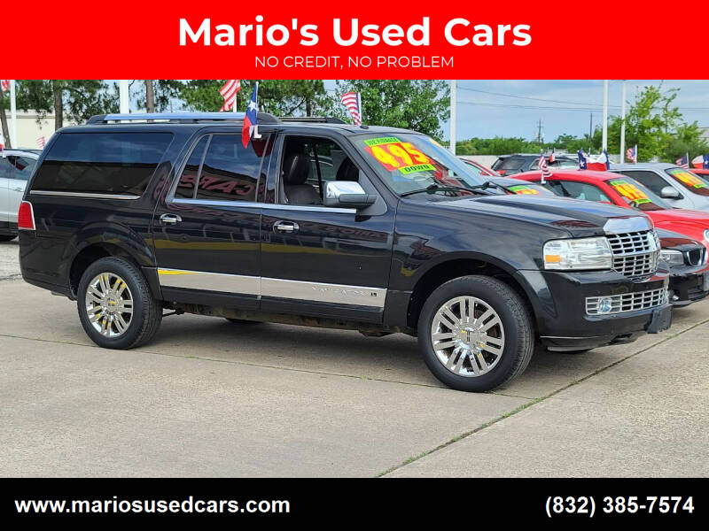 2010 Lincoln Navigator L for sale at Mario's Used Cars in Houston TX