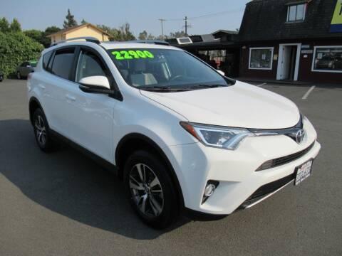 2016 Toyota RAV4 for sale at Tonys Toys and Trucks in Santa Rosa CA