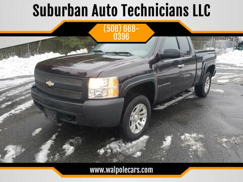 2008 Chevrolet Silverado 1500 for sale at Suburban Auto Technicians LLC in Walpole MA