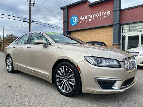 2017 Lincoln MKZ Hybrid for sale at Automotive Solutions in Louisville KY