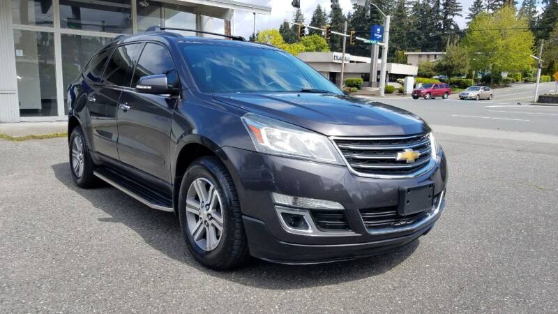 2015 Chevrolet Traverse for sale at Seattle Auto Deals in Everett WA