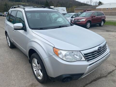 2010 Subaru Forester for sale at DETAILZ USED CARS in Endicott NY