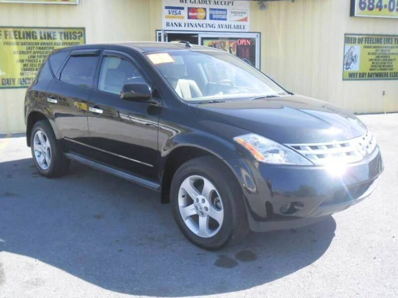 2005 Nissan Murano for sale at Mr. G's Auto Sales in Shelbyville TN
