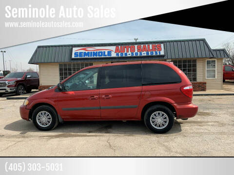 2006 Chrysler Town and Country for sale at Seminole Auto Sales in Seminole OK