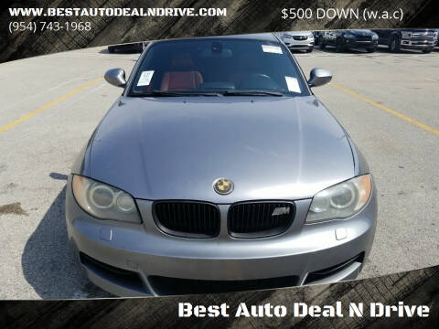 2010 BMW 1 Series for sale at Best Auto Deal N Drive in Hollywood FL