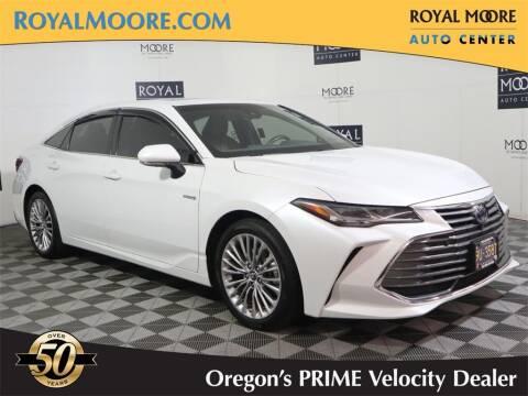 2019 Toyota Avalon Hybrid for sale at Royal Moore Custom Finance in Hillsboro OR