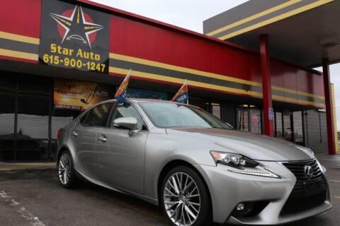 2015 Lexus IS 250 for sale at Star Auto Inc. in Murfreesboro TN