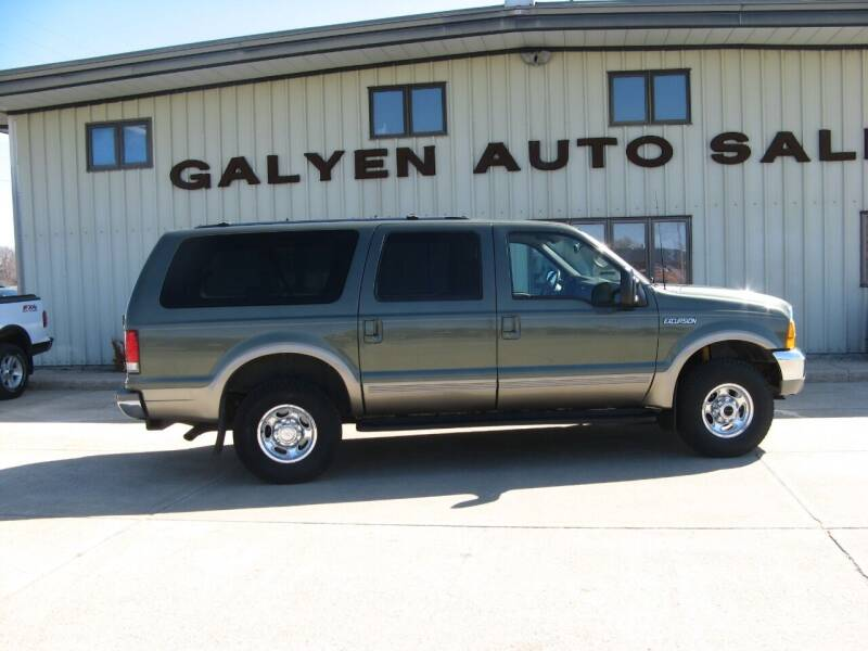 2000 Ford Excursion for sale at Galyen Auto Sales Inc. in Atkinson NE