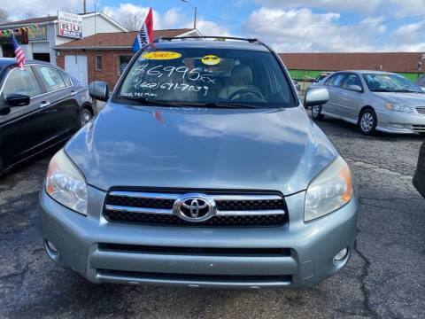 2007 Toyota RAV4 for sale at L&M Auto Import in Gastonia NC
