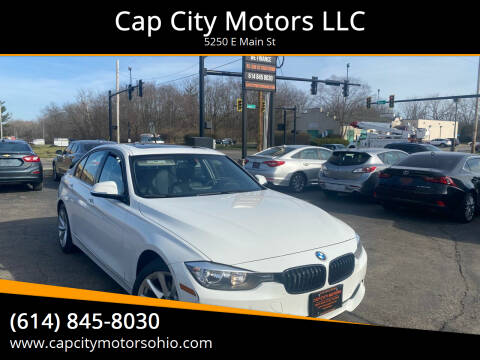 2015 BMW 3 Series for sale at Cap City Motors LLC in Columbus OH