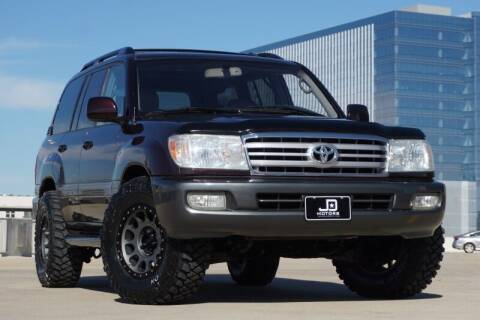 2006 Toyota Land Cruiser for sale at JD MOTORS in Austin TX