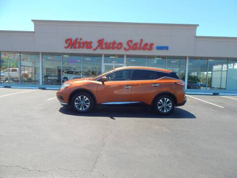 2016 Nissan Murano for sale at Mira Auto Sales in Dayton OH