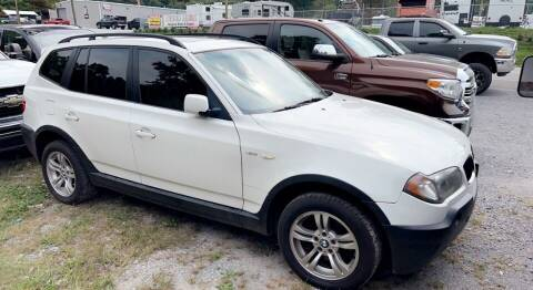 2004 BMW X3 for sale at North Knox Auto LLC in Knoxville TN
