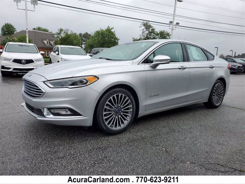 2017 Ford Fusion Hybrid for sale in Duluth, GA