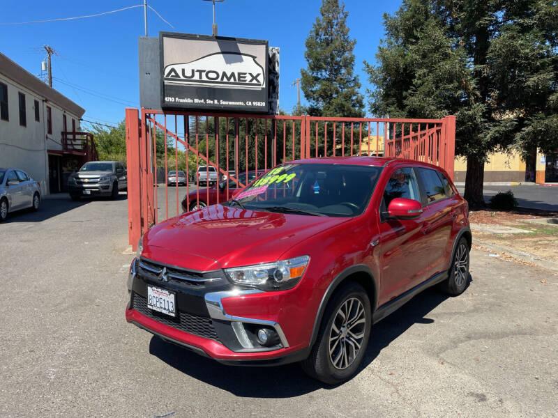 2018 Mitsubishi Outlander Sport for sale at AUTOMEX in Sacramento CA