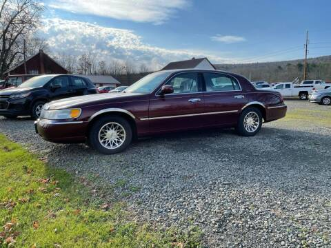 2001 Lincoln Town Car for sale at Brush & Palette Auto in Candor NY