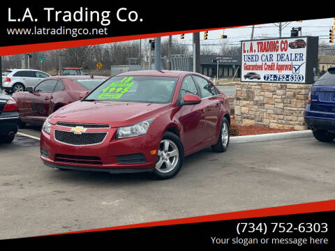 2013 Chevrolet Cruze for sale at L.A. Trading Co. Woodhaven in Woodhaven MI