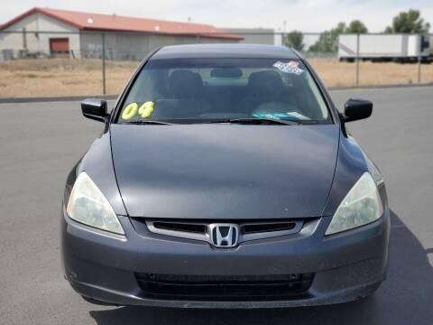 2004 Honda Accord for sale at FRESH TREAD AUTO LLC in Springville UT