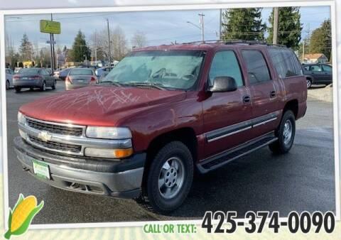 2001 Chevrolet Suburban for sale at Corn Motors in Everett WA
