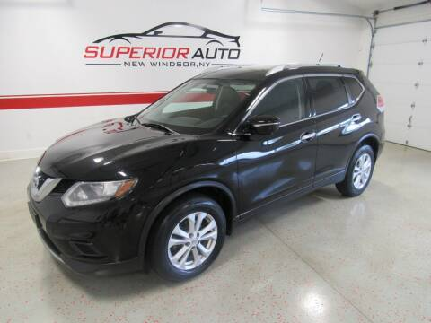 2015 Nissan Rogue for sale at Superior Auto Sales in New Windsor NY