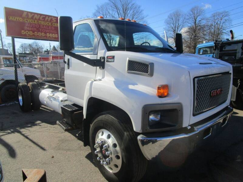 2008 GMC C7500 for sale at Lynch's Auto - Cycle - Truck Center in Brockton MA