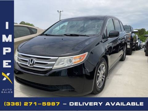 2012 Honda Odyssey for sale at Impex Auto Sales in Greensboro NC
