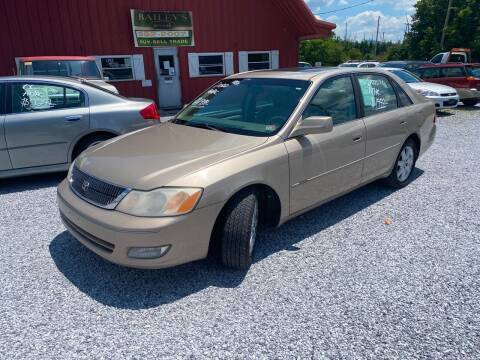 2000 Toyota Avalon for sale at Bailey's Auto Sales in Cloverdale VA