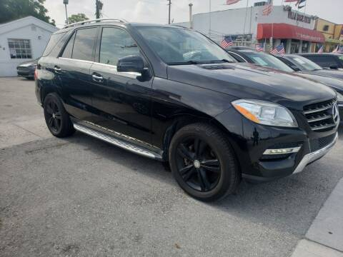 2015 Mercedes-Benz M-Class for sale at INTERNATIONAL AUTO BROKERS INC in Hollywood FL
