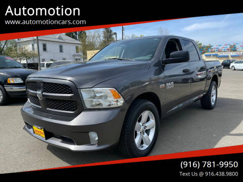 2014 RAM Ram Pickup 1500 for sale at Automotion in Roseville CA