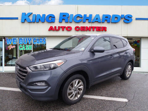 2016 Hyundai Tucson for sale at KING RICHARDS AUTO CENTER in East Providence RI