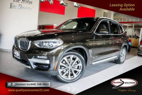 2018 BMW X3 for sale at Quality Auto Center of Springfield in Springfield NJ