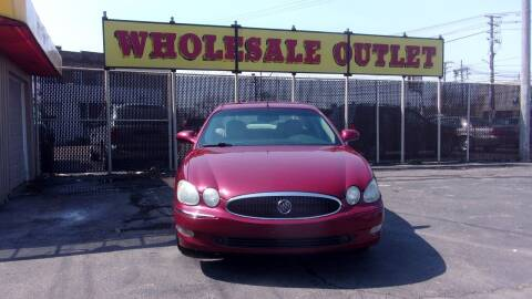 2005 Buick LaCrosse for sale at LONG BROTHERS CAR COMPANY in Cleveland OH