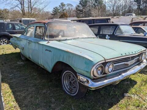 1960 Chevrolet Biscayne for sale at Classic Cars of South Carolina in Gray Court SC