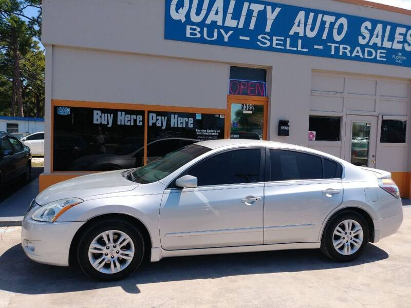 2011 Nissan Altima for sale at QUALITY AUTO SALES OF FLORIDA in New Port Richey FL