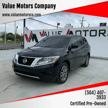 2016 Nissan Pathfinder for sale at Value Motors Company in Marrero LA