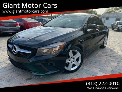 2015 Mercedes-Benz CLA for sale at Giant Motor Cars in Tampa FL