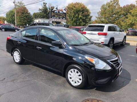 2018 Nissan Versa for sale at BATTENKILL MOTORS in Greenwich NY