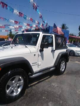 2012 Jeep Wrangler for sale at Rosa's Auto Sales in Miami FL