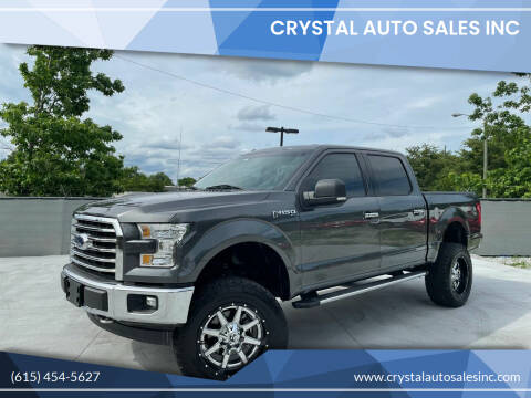 2017 Ford F-150 for sale at Crystal Auto Sales Inc in Nashville TN