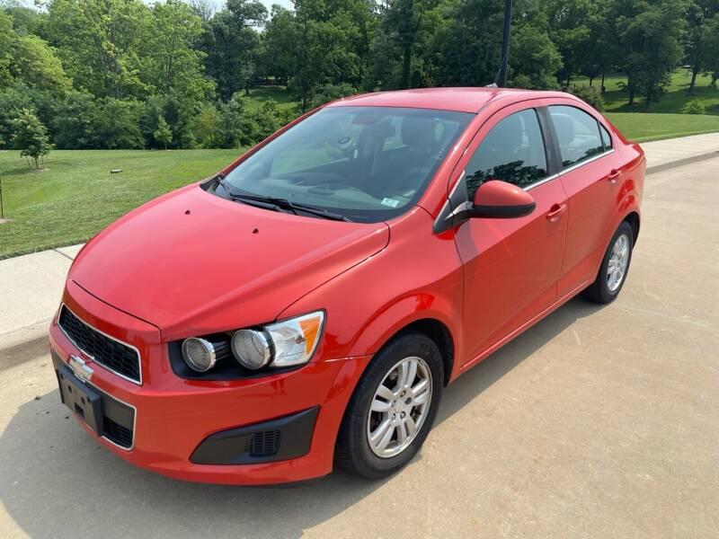 2013 Chevrolet Sonic for sale at CHAD AUTO SALES in Bridgeton MO