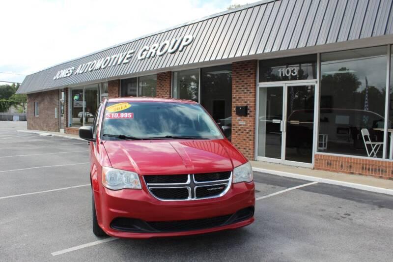 2013 Dodge Grand Caravan for sale at Jones Automotive Group in Jacksonville NC