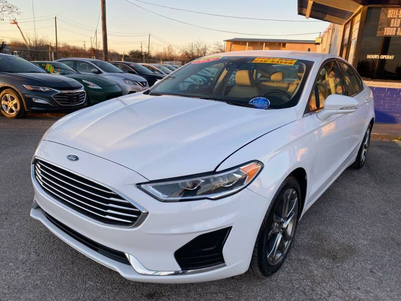 2020 Ford Fusion for sale at Cow Boys Auto Sales LLC in Garland TX