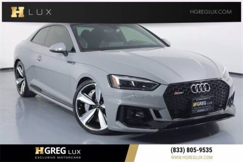 2018 Audi RS 5 for sale at HGREG LUX EXCLUSIVE MOTORCARS in Pompano Beach FL