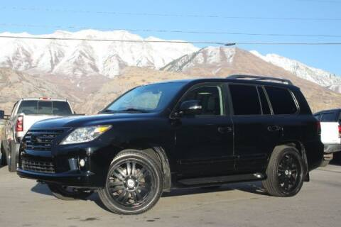 2013 Lexus LX 570 for sale at REVOLUTIONARY AUTO in Lindon UT