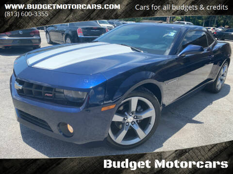 2011 Chevrolet Camaro for sale at Budget Motorcars in Tampa FL