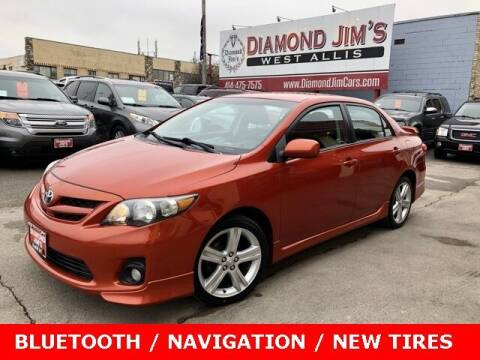 2013 Toyota Corolla for sale at Diamond Jim's West Allis in West Allis WI