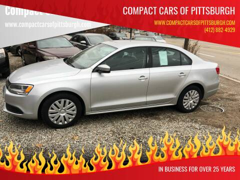 2013 Volkswagen Jetta for sale at Compact Cars of Pittsburgh in Pittsburgh PA